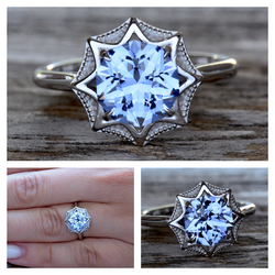Arctic Blue Lab Sapphire