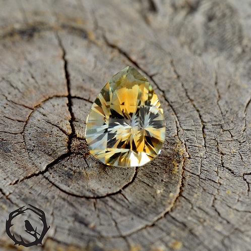 1.15 carat Montana Sapphire Yellow & White Parti (Heated)