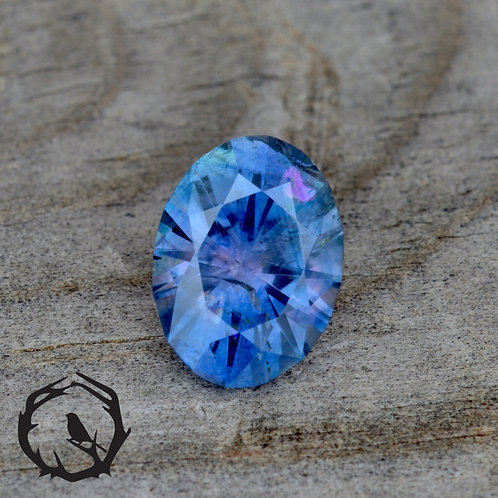 1.66 carat Montana Sapphire Color Change (Heated)