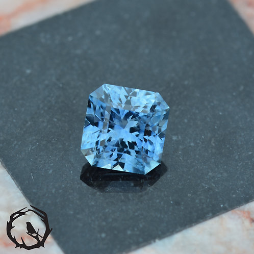 1.26 carat Montana Sapphire Sky Blue (Heated)
