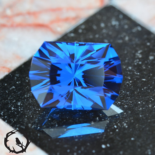 Lab Created Spinel Cyber Blue
