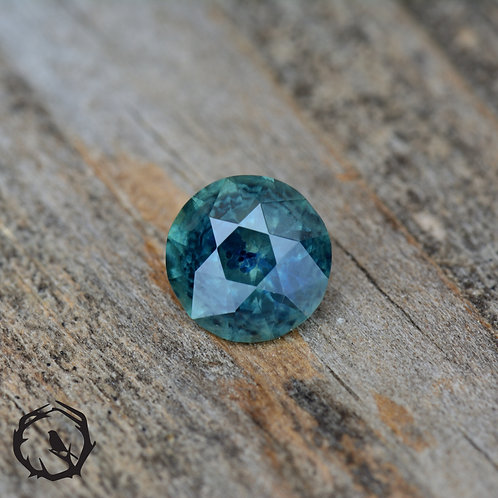 0.75 carat Montana Sapphire Blue (Heated)