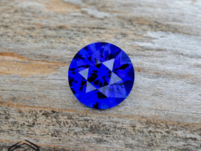 Pulled Blue Sapphire