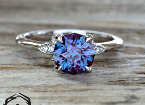 Unique Alexandrite Ring