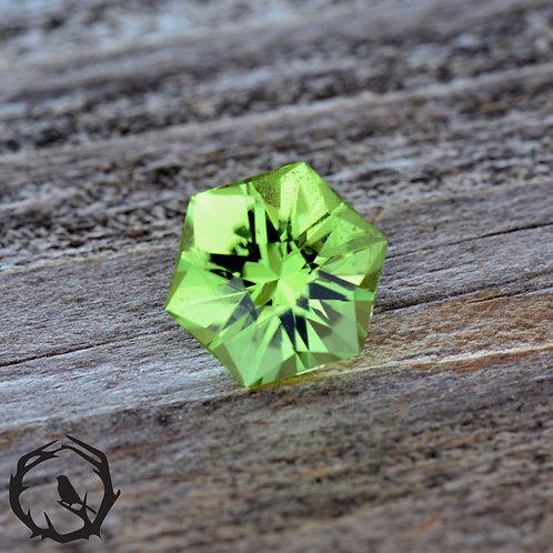 1.24 carat Peridot Mint