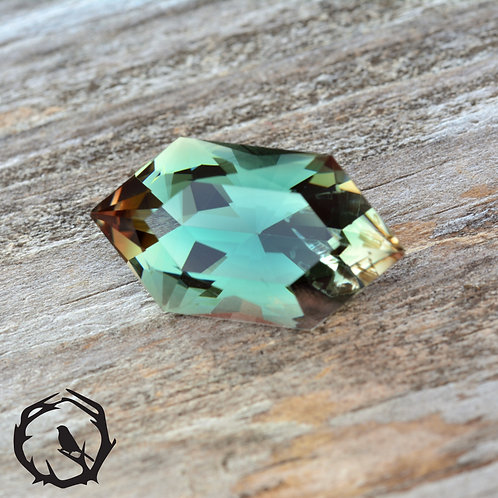 6.70 carat Oregon Sunstone Blue-Green