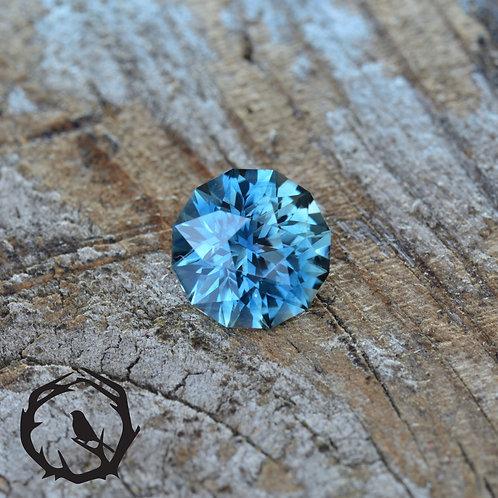1.1 carat Montana Sapphire Blue (Heated)