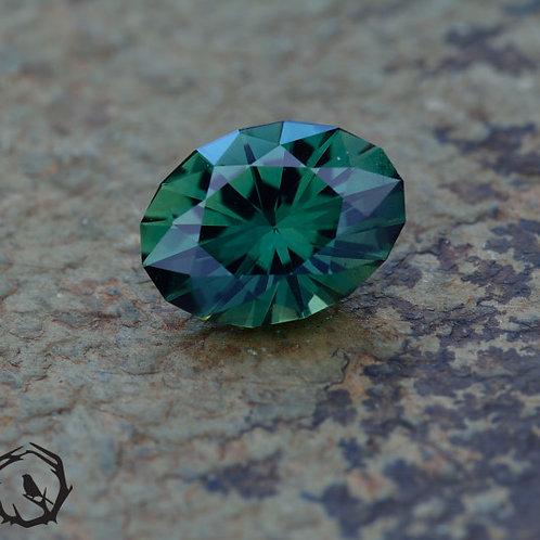 1.8 carat Australian Sapphire Blue-Green (Unheated)