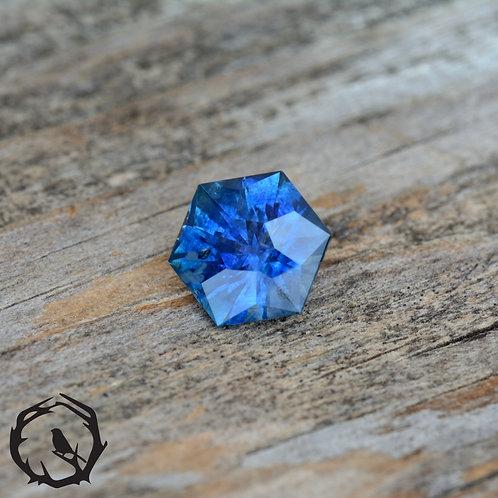 1.38 carat Montana Sapphire Royal Blue (Heated)
