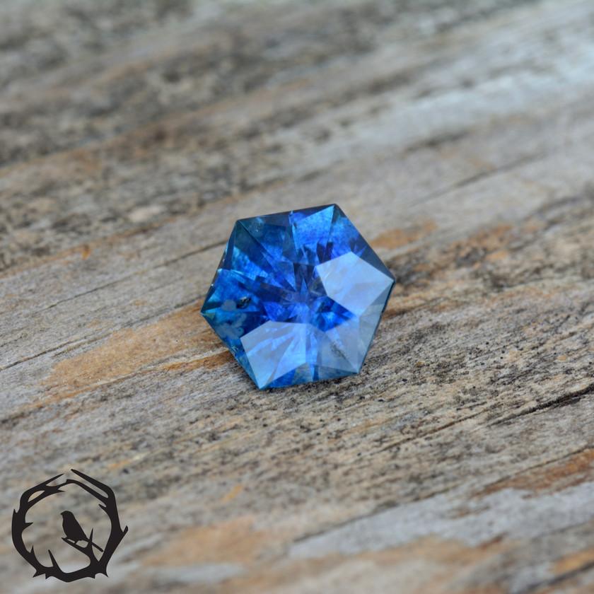 Royal Blue Montana Sapphire