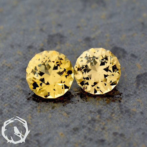 1.9 carat Grossular Garnet Pair