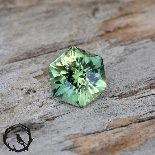 0.9 carat Madagascar Sapphire Bi-Color (Heated)
