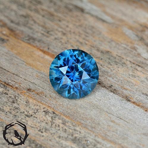 1.38 carat Montana Sapphire Blue (Heated)