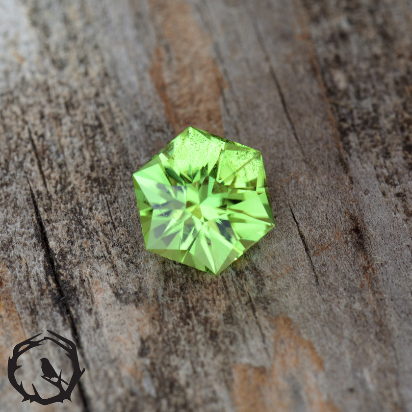 Mint Peridot Natural