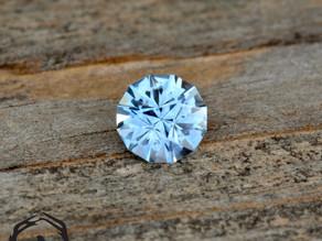 Light Blue Montana Sapphire