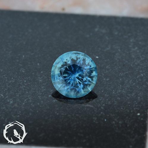 0.7 carat Montana Sapphire Blue-Green (Heated)