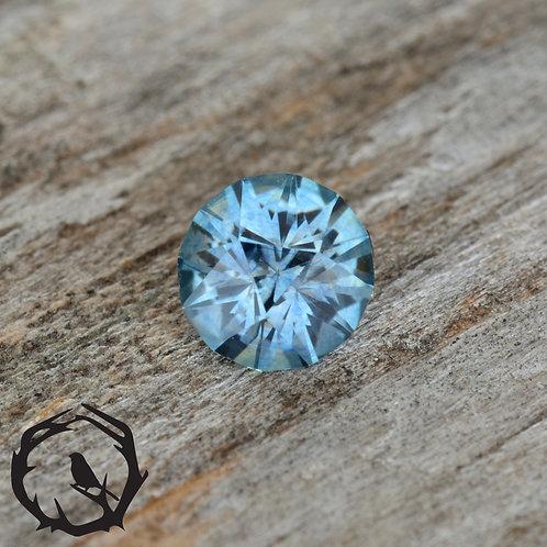 0.38 carat Montana Sapphire Blue (Heated)