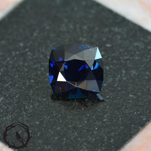 1.08 carat Australian Sapphire Midnight Blue (Unheated)