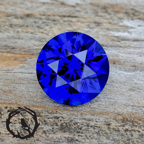 Pulled Sapphire Royal Blue