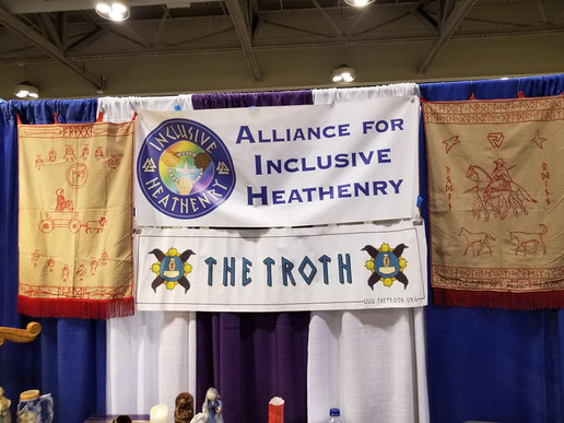 Alliance for Inclusive Heathenry Booth #411
