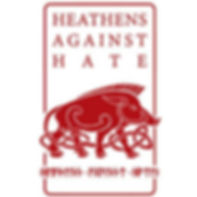 Heathens Against Hate Vertical Logo