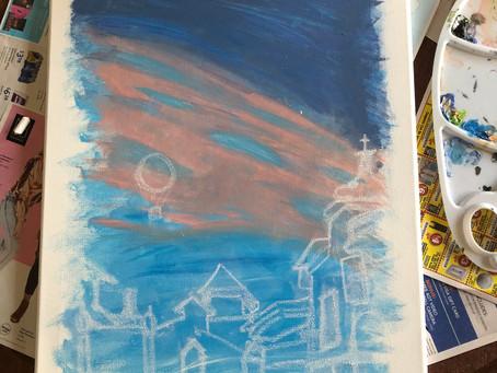 Painterly Endeavor #1: Disney Springs