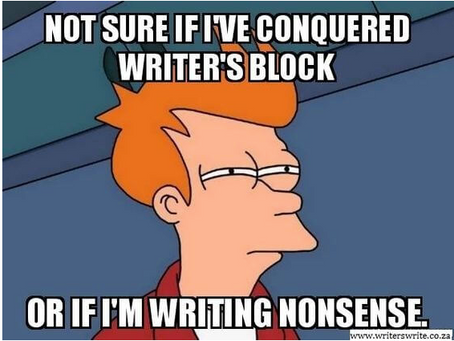 20 Relatable Memes about Writing