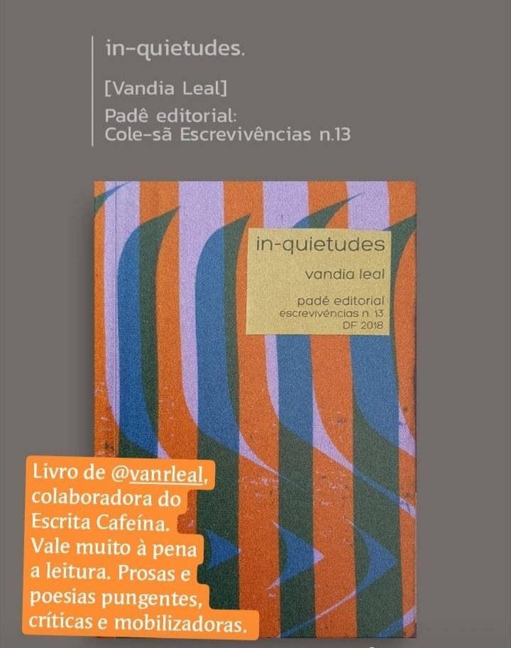 Livro In-quietuddes