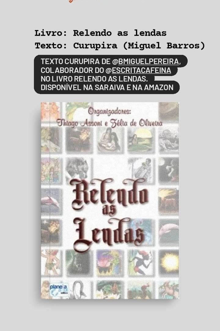Livro Relendo as lendas