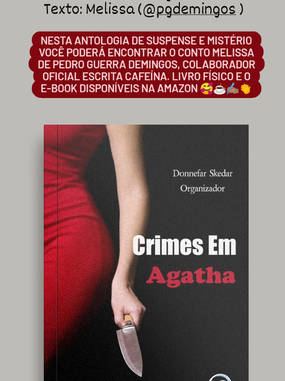 Livro Crimes em Agatha