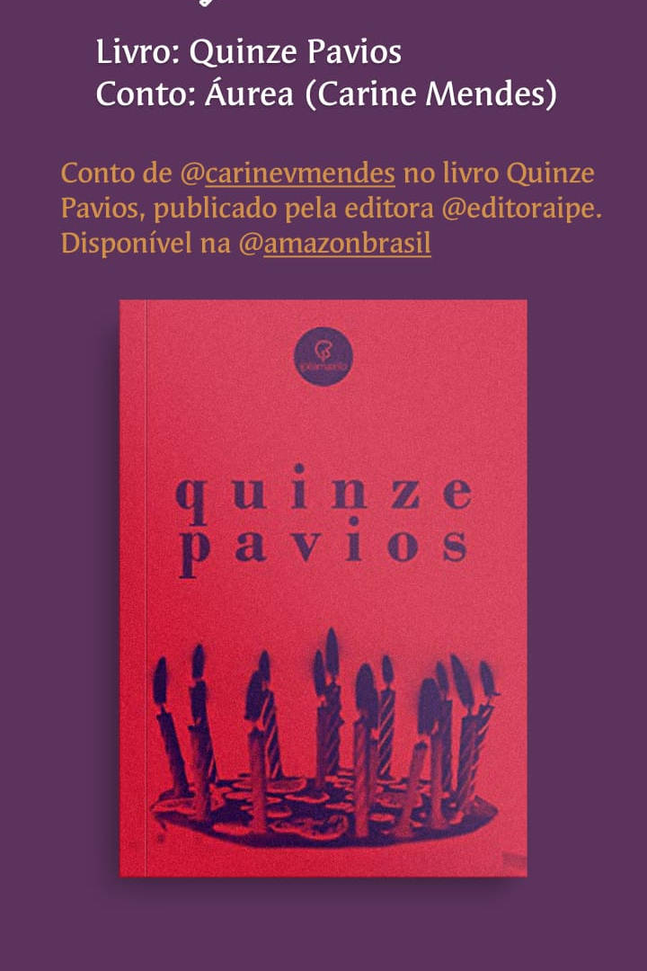 Livro Quinze Pavios