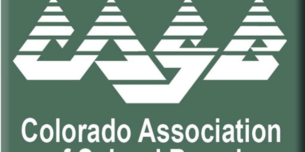 Colorado Association of School Boards Region 4 Meeting