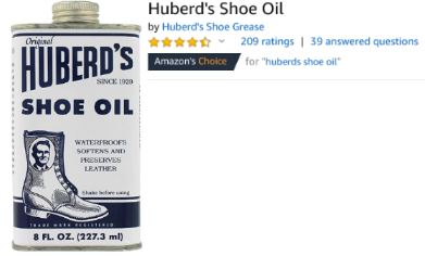 Amazon Huberds Shoe Oil Review.png