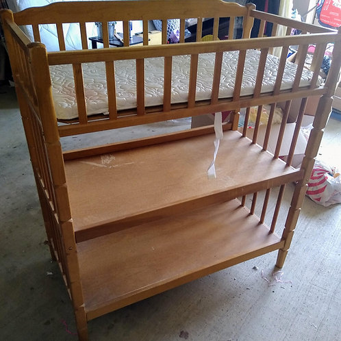 Baby Changing Table   -  Real Wood