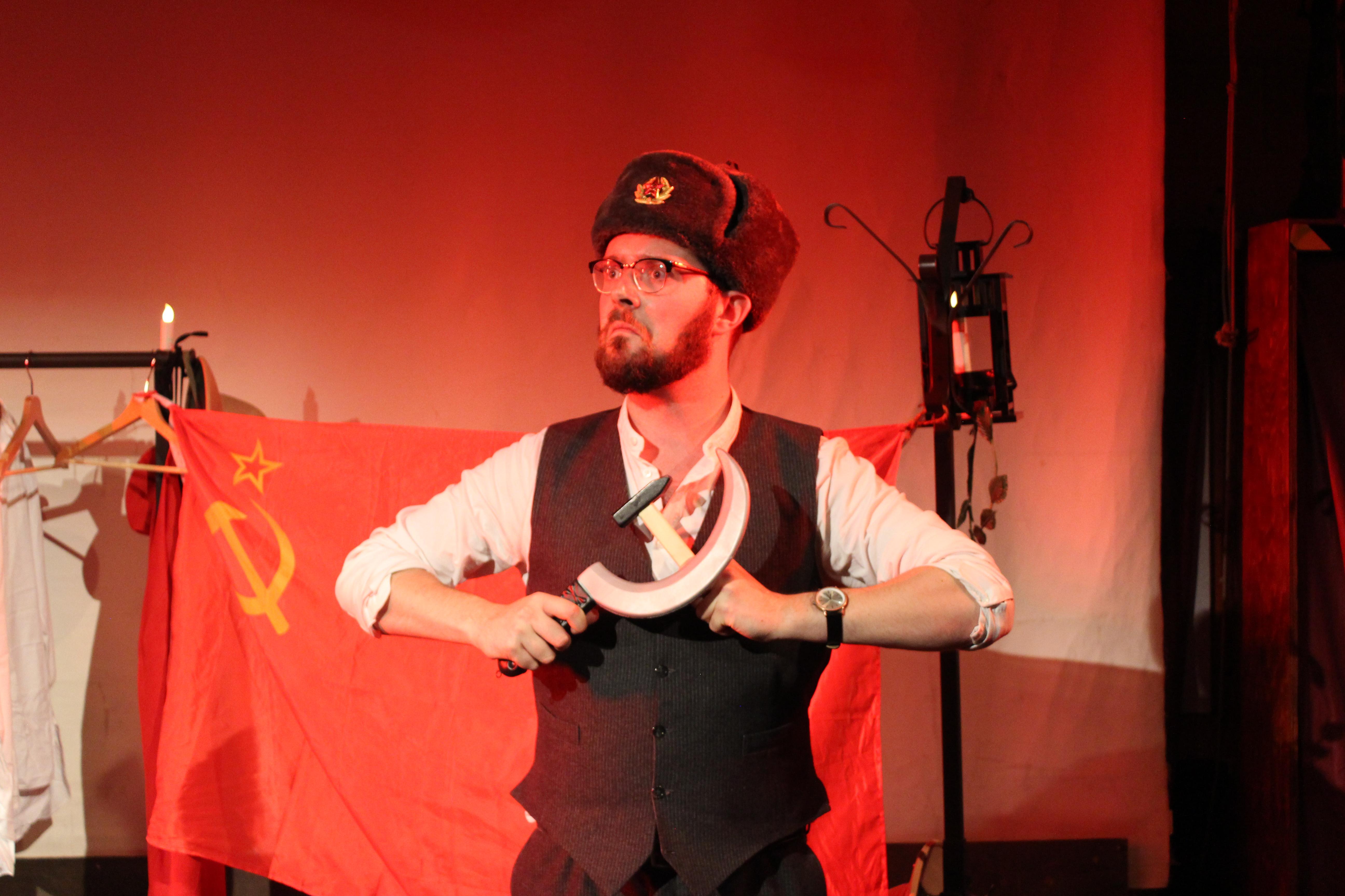 Stunned Bolshevik