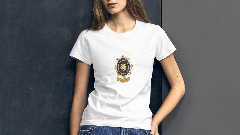 Women's short sleeve t-shirt-Evergood