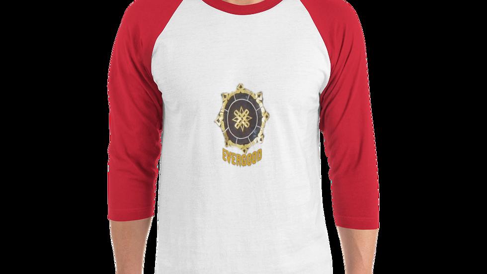 3/4 sleeve raglan shirt-Evergood