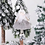 Thumbnail: Navidad Plush Sitting Angel Elk Pendant Xmas Tree Decor Santa Claus