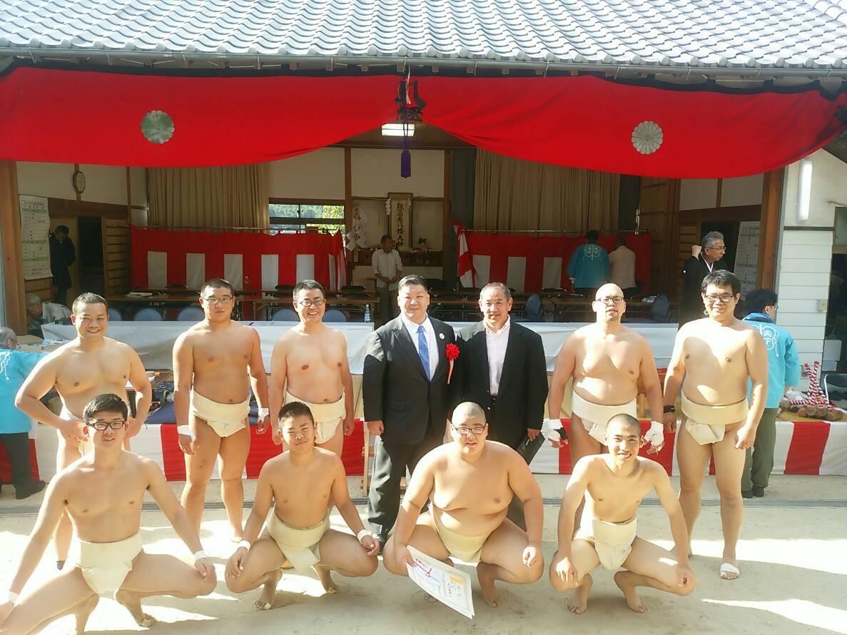 因島相撲大会