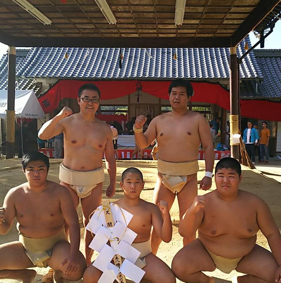 因島奉納相撲大会