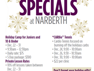 Join us for our Holiday Specials and Events!
