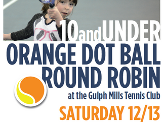 Orange Dot Round Robin