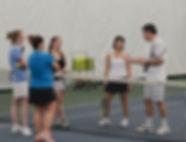 Adult Indoor tennis Clinics at JKST