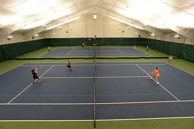 Adult Tennis Clinics for Indoor Tennis