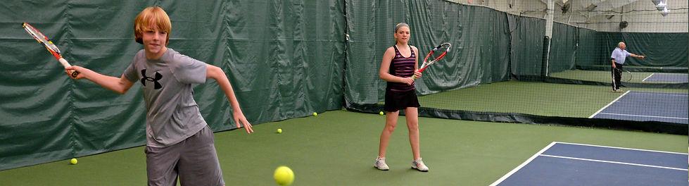 JR Indoor Tennis Clinics