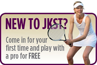 Try out JKST indoor tennis club and play tennis for free