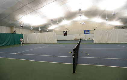 Private Tennis Lessons at Indoor Tennis Club