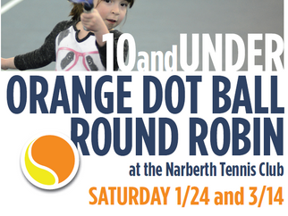 Upcoming Orange Ball Round Robins