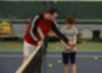 Junior Tennis Indoor Club Private Lessons