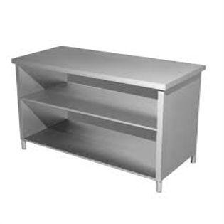 tavolo inox aperto